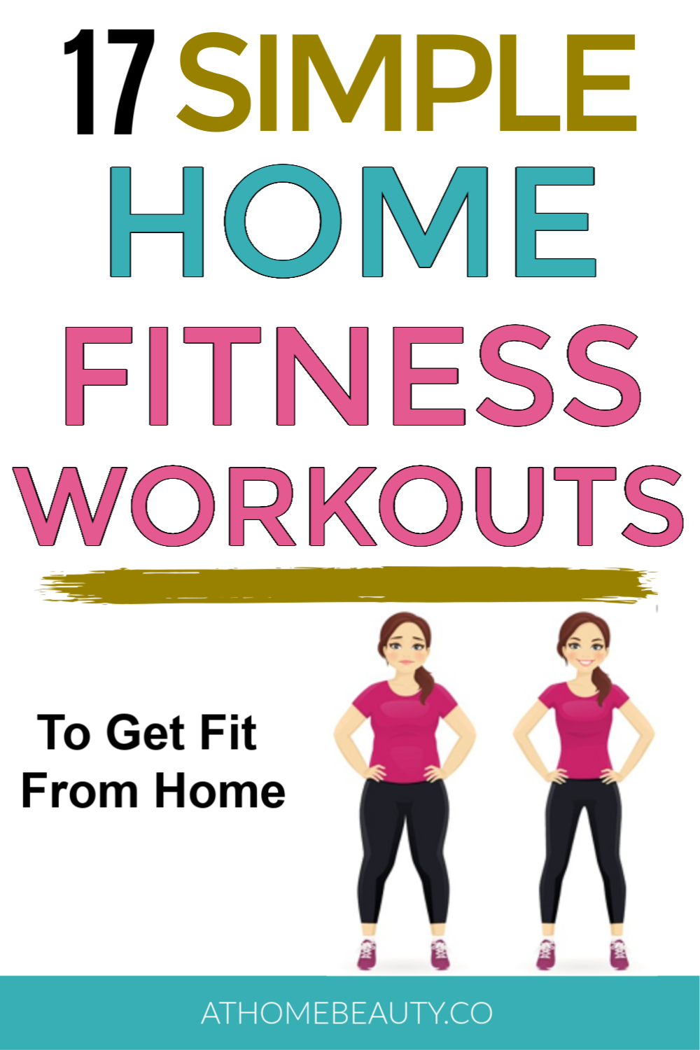17 Simple Home Fitness Workouts