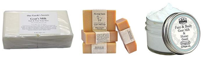 Goat Milk Soap Products